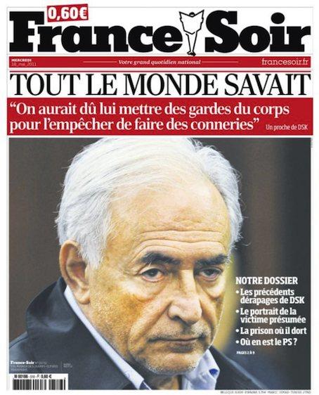 France-soir-DSK-tout-le-monde-savait