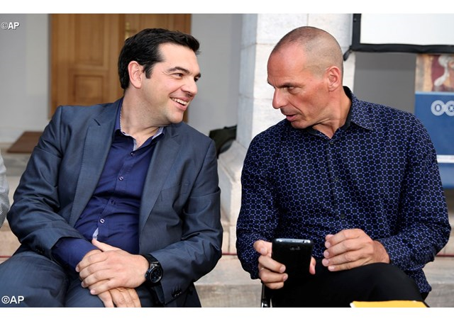 A. Tsipras and Y. Varoufakis
